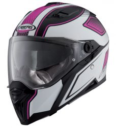 Caberg Stunt Blade, matt black/pink
